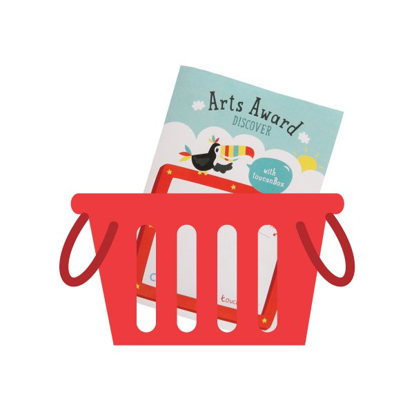 Arts Award in a basket